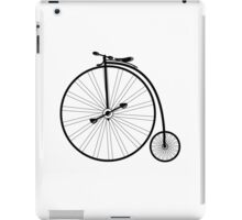 vintage bike  iPad Case/Skin