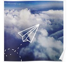 Paper Plane Poster