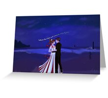 Salty Air-Intense love does not measure,It just gives. Greeting Card