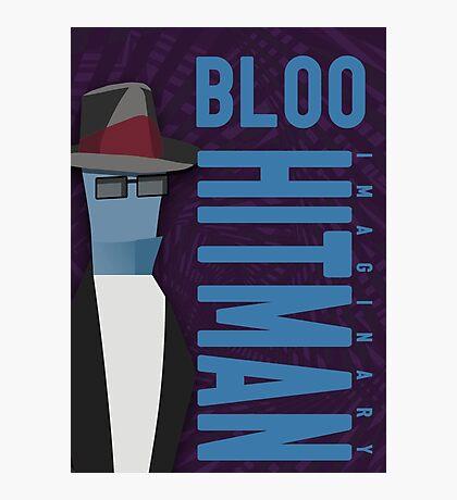 Bloo the hitman Photographic Print