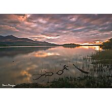 Sunset at Lough Leane Photographic Print