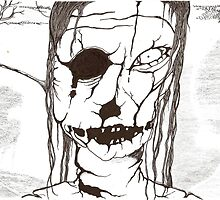 Zombie 1 (inked) by gypsycaster