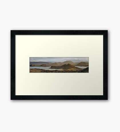 Galapagos  - Bartoleme Framed Print