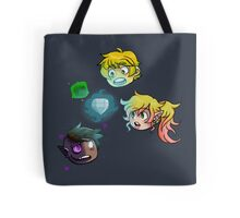 The Haunted: Chibi Heads Tote Bag