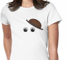 Invisible Hat Man Womens Fitted T-Shirt