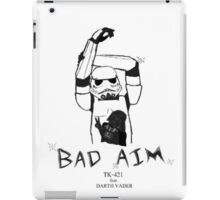 Bad Aim iPad Case/Skin