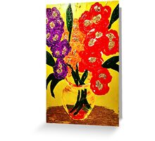 Oakland Glad Day Design by Instant Arts Greeting Card