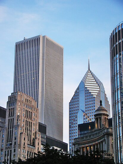 Architectural Styles of Chicago by JCBimages