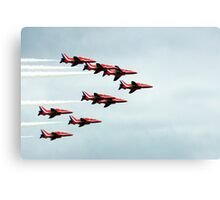 Red Arrows! Canvas Print