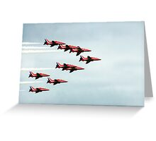 Red Arrows! Greeting Card