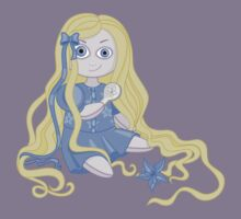 Pretty and weird Rapunzel doll  Kids Clothes