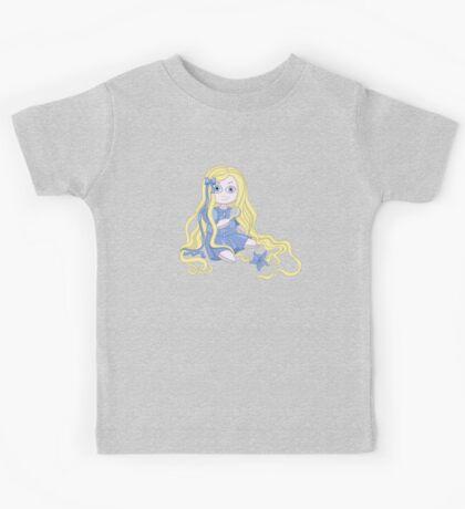 Pretty and weird Rapunzel doll  Kids Tee
