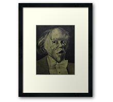 The Honorable Joseph Merrick Framed Print