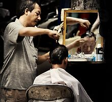 The Barber (of Hanoi) #0201 by Michiel de Lange