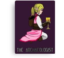 The Haunted - Mia: The Archaeologist Canvas Print