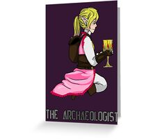 The Haunted - Mia: The Archaeologist Greeting Card