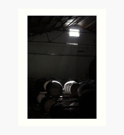 Wine in progress Art Print