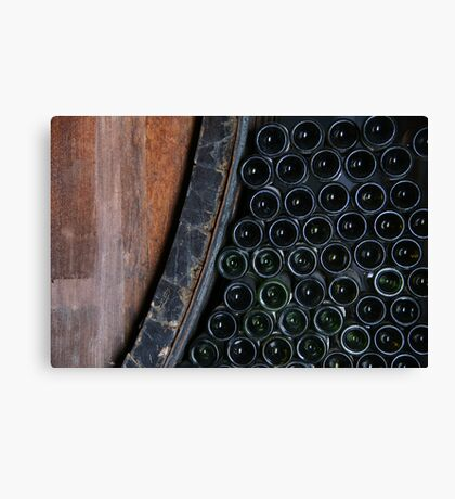 From barrel to bottle Canvas Print
