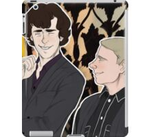 Lets Draw Sherlock iPad Case/Skin