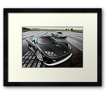 Koenigsegg CCX and CCXR Framed Print
