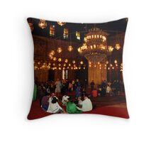 Mosque of Muhammad Ali (Interior) Throw Pillow