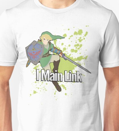I Main Link - Super Smash Bros. Unisex T-Shirt