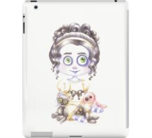 Jane Austen style doll  iPad Case/Skin