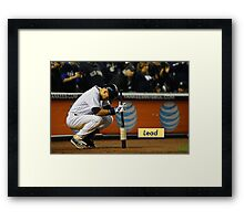 Lead 305 Framed Print