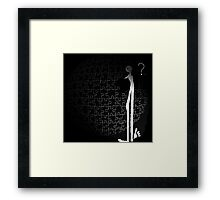 allthings is we hands..demolish or found? Framed Print