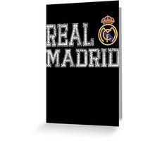 Real Madrid Greeting Card
