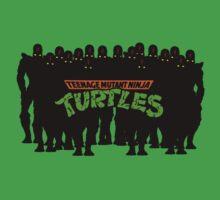 TMNT - Foot Soldiers - Teenage Mutant Ninja Turtles Baby Tee