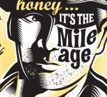 Indy's Mileage Sticker