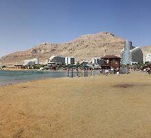 Dead Sea shore. by milzi