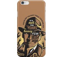 Indy's Mileage iPhone Case/Skin