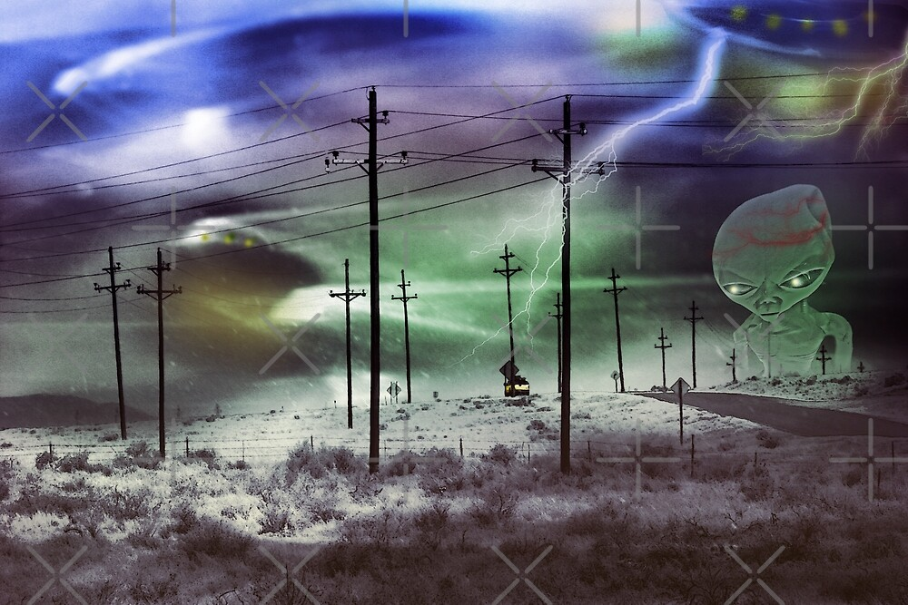 Alien Returns to Roswell by CarolM