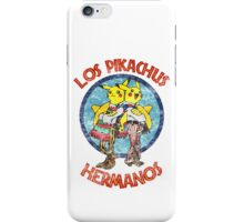 Los Pikachus Hermanos (Distressed Version) iPhone Case/Skin