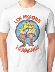 Los Pikachus Hermanos (Distressed Version) T-Shirt