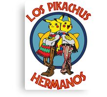 Los Pikachus Hermanos (Clean Version) Canvas Print