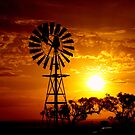 Aussie Sunset by Clive