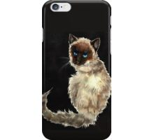 Siamese Kitty iPhone Case/Skin