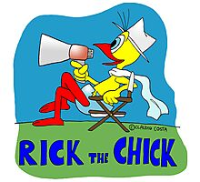 """Rick the chick """"DIRECTOR"""" Photographic Print"""