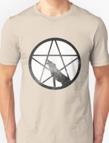 Galaxy Wolf Pentagram T-Shirt