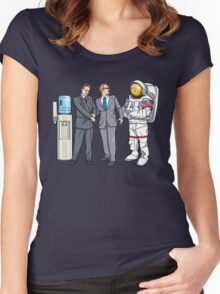 Now That's A Suit! Women's Fitted Scoop T-Shirt