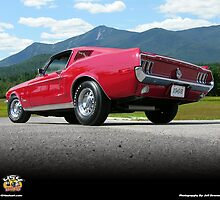 Ford Mustangs by 454autoart