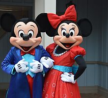 Disney Mickey Mouse Minnie Mouse Disney Mickey and Minnie by notheothereye