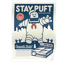 Stay Puft Marshmallow Man Poster
