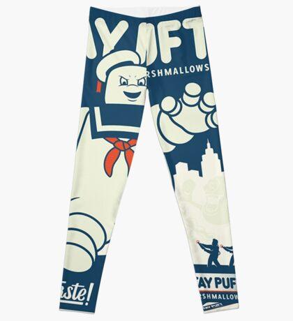 Stay Puft Marshmallow Man Leggings