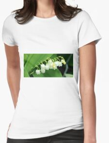 Lily of the valley Womens Fitted T-Shirt