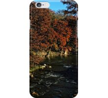 Guadalupe River in Gruene TX iPhone Case/Skin