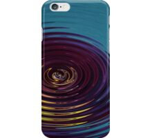 Water Ripple in Teal iPhone Case/Skin